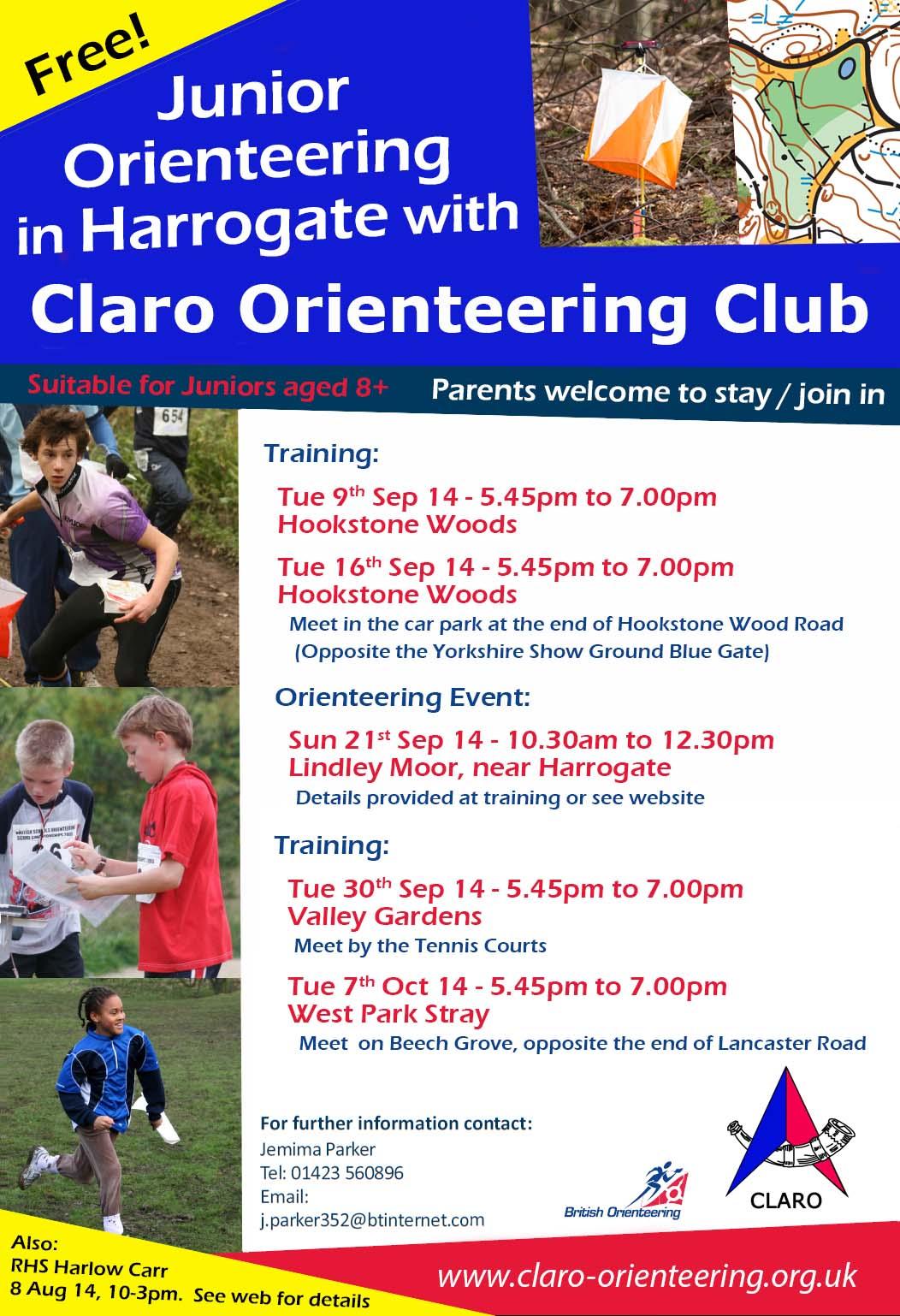 Junior Orienteering Series Sep 14 v1