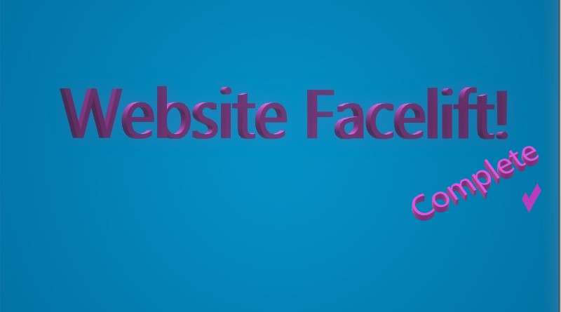 Website Facelift