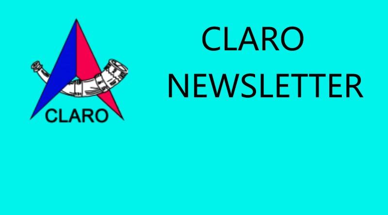 Claro Newsletter 3rd December