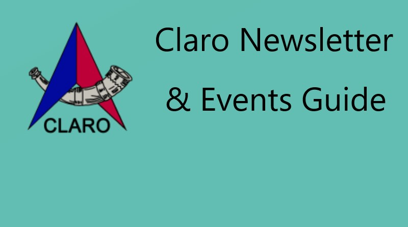 Claro Newsletter 23rd  January 2020