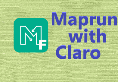 Maprun with Claro